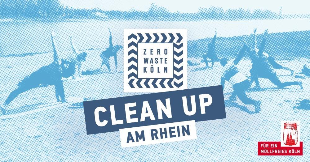 CLEAN UP am Rhein